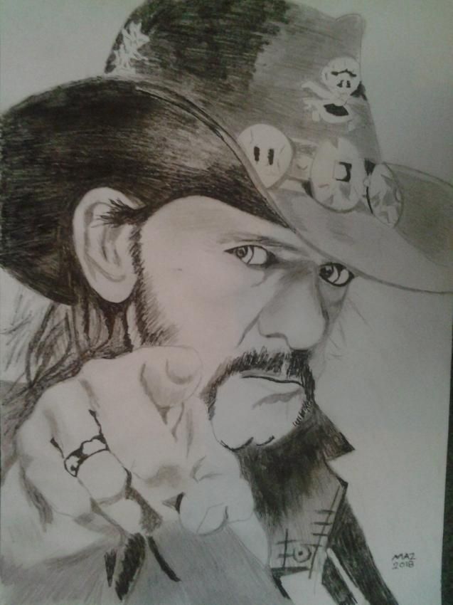 Lemmy Kilmister by marriotti96